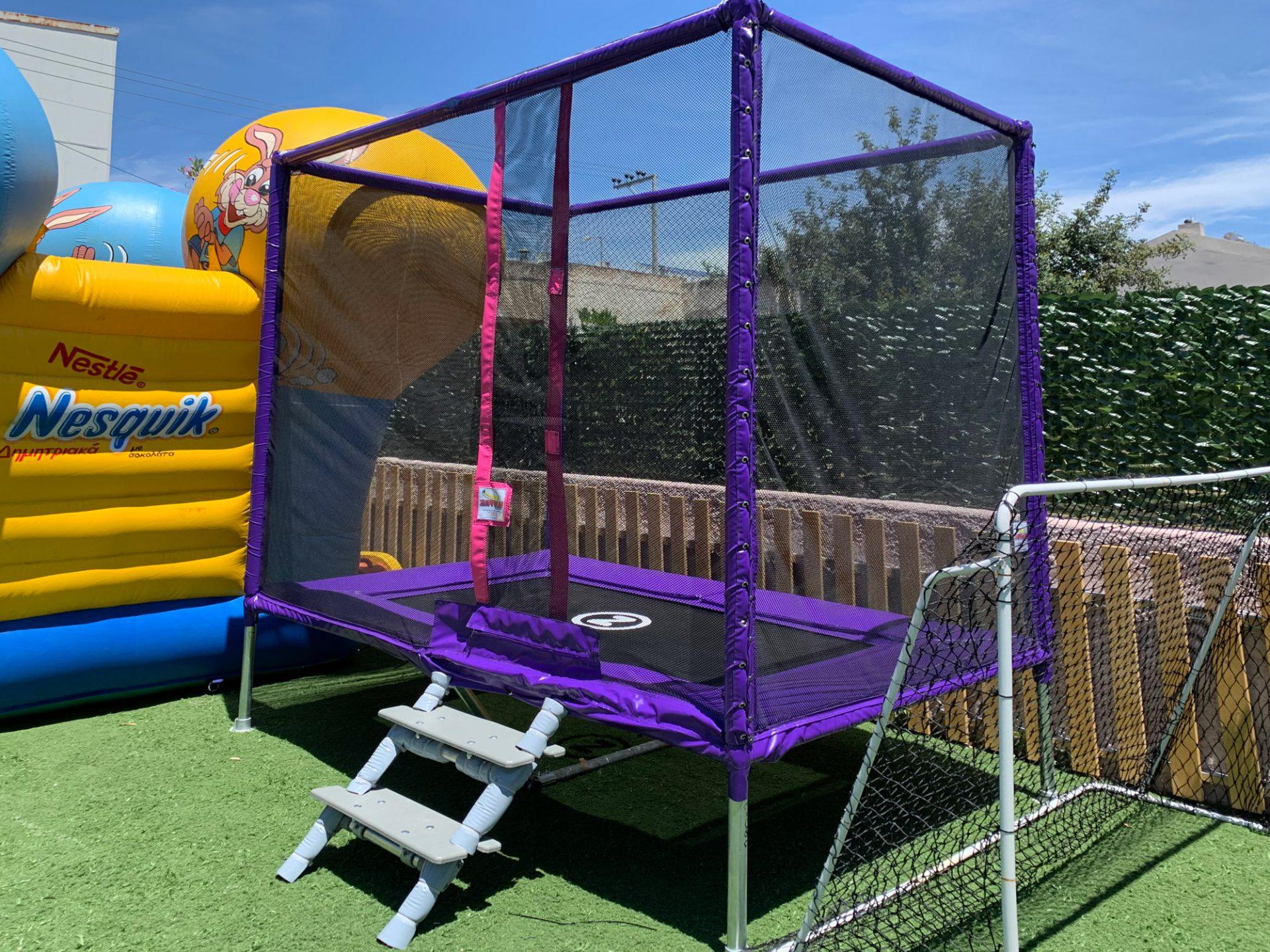 Playground Trampoline 2,80m X 1,80m