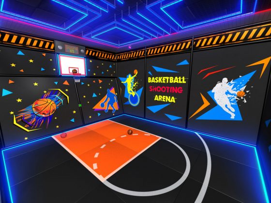 Basketball Interactive Game