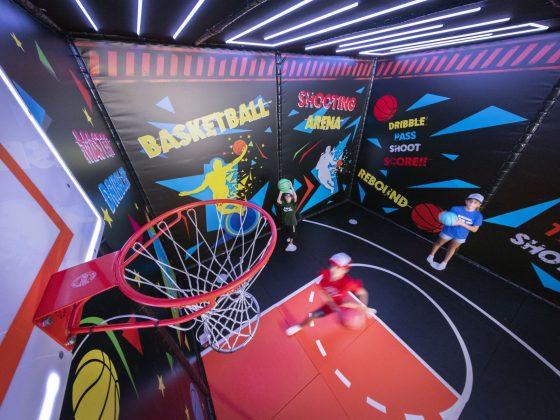 Basketball Interactive Game