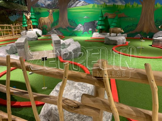 Adventure Mini Golf Playground
